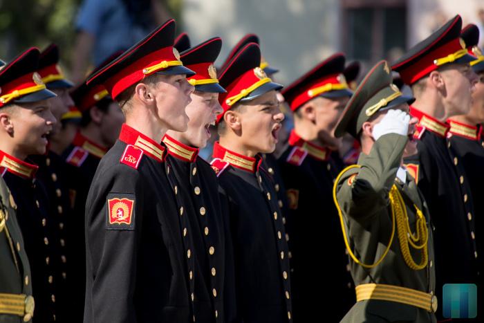 """Elevi ai Şcolii militare """"Suvororv"""" din Tiraspol"""
