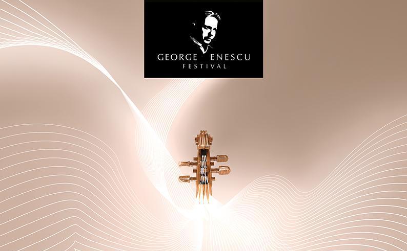 """Afiş Festivalul """"George Enescu""""."""