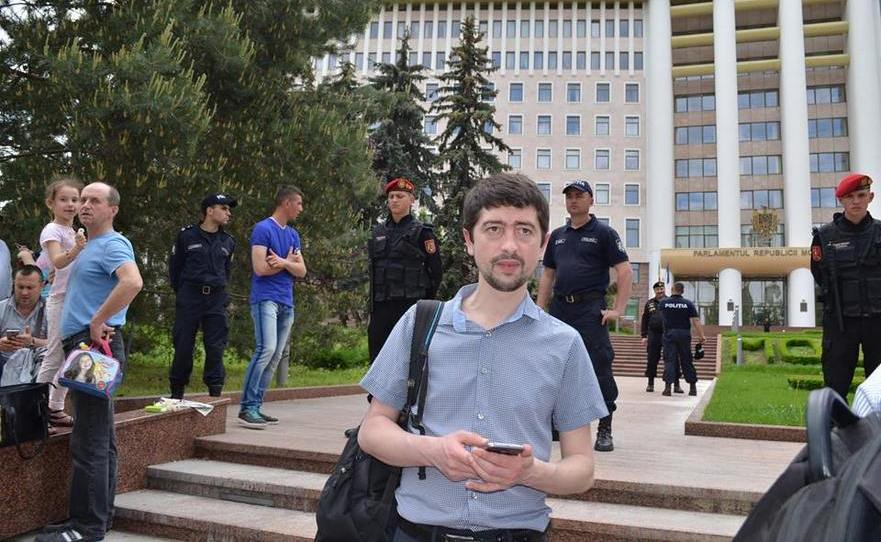 Valeriu Paşa, activist civic din R. Moldova