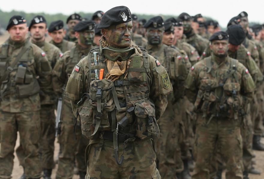 Soldaţi polonezi