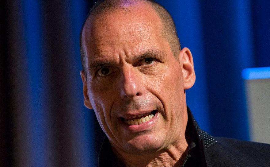 Fostul ministru elen al finanţelor, Yanis Varoufakis.