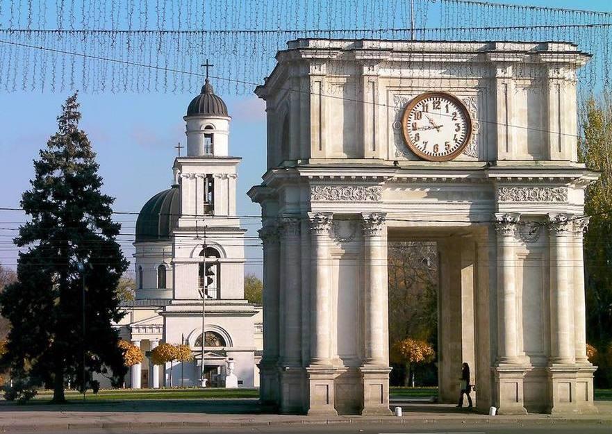 Centrul oraşului Chişinău