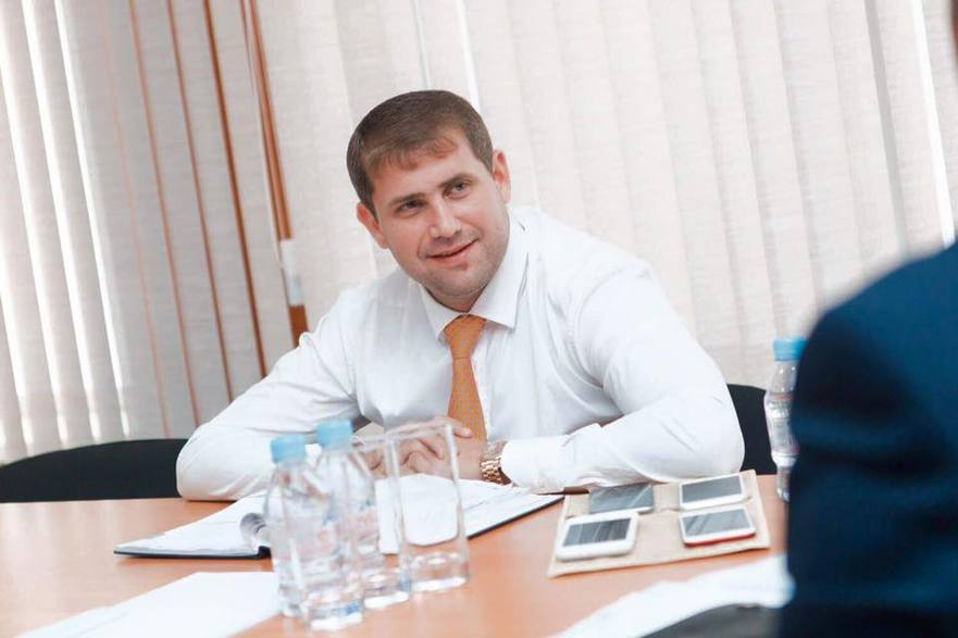 Ilan Şor primarul oraşului Orhei din R. Moldova