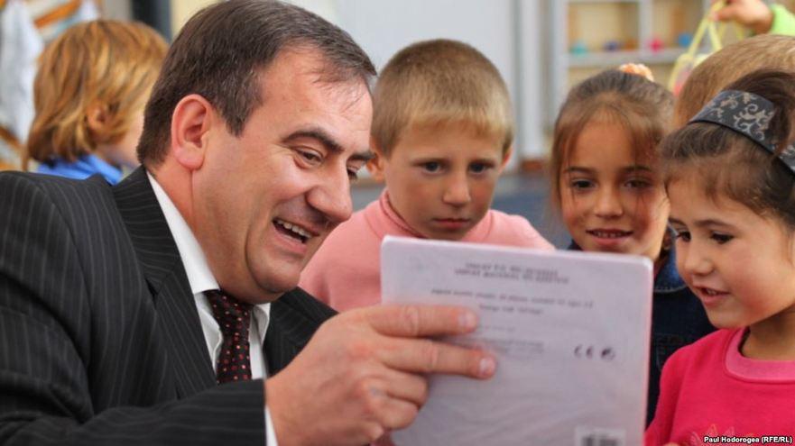Valentin Crudu, şeful Direcţiei Învăţământ General al Ministrului Educaţiei