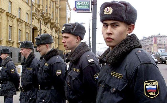 Poliţisti ruşi