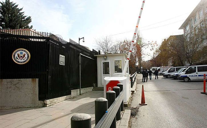 Ambasada SUA din capitala turcă Ankara.