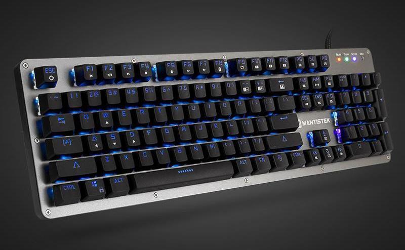 Tastatură de fabricaţie chineză Mantistek GK2