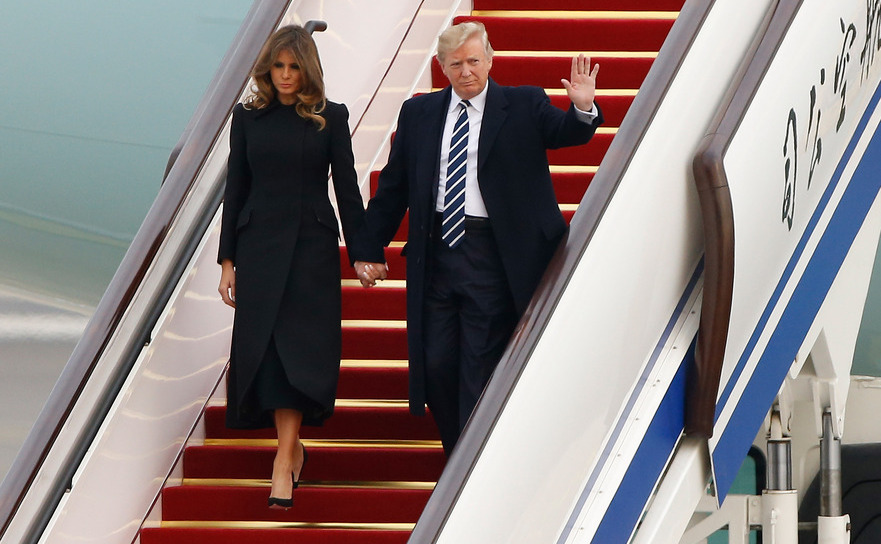 Trump în Beijing