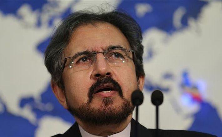 Bahram Qassemi, purtător de cuvânt al Ministerului iranian de Externe.