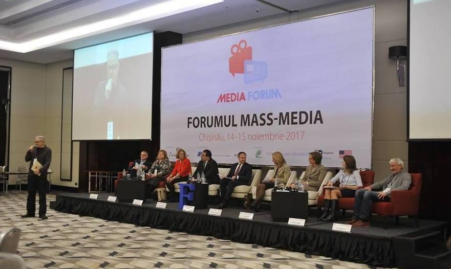 Forumul mass media din R. Moldova 2017