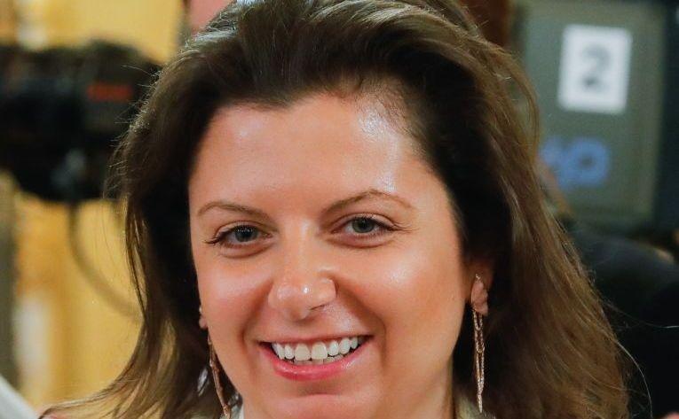 Margarita Simonian, redactorul şef al reţelei ruse de ştiri RT.