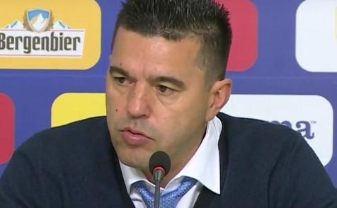Selecţionerul echipei naţionalei de fotbal a României, Cosmin Contra.