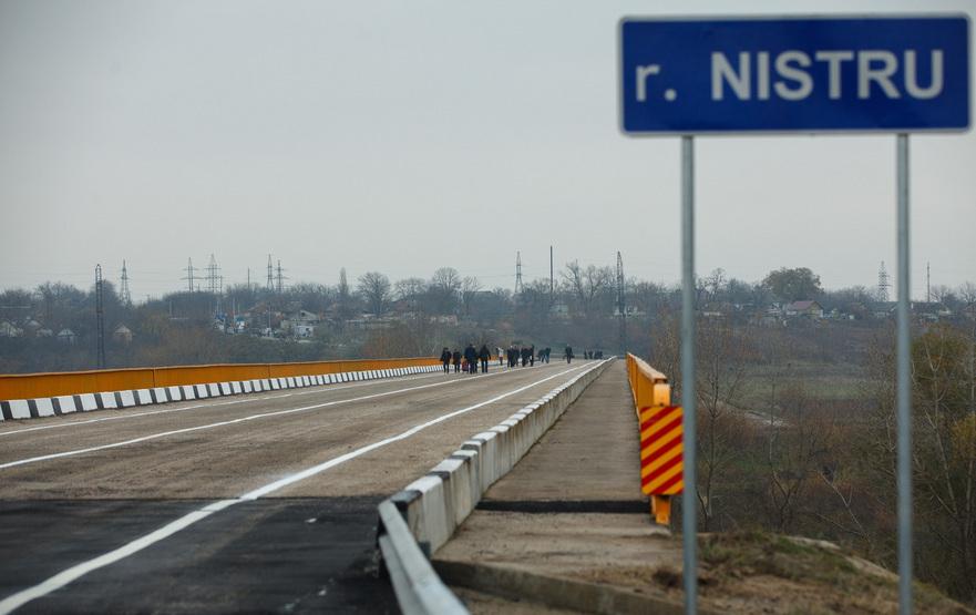 Podul peste râul Nistru, redeschis la Gura Bîcului