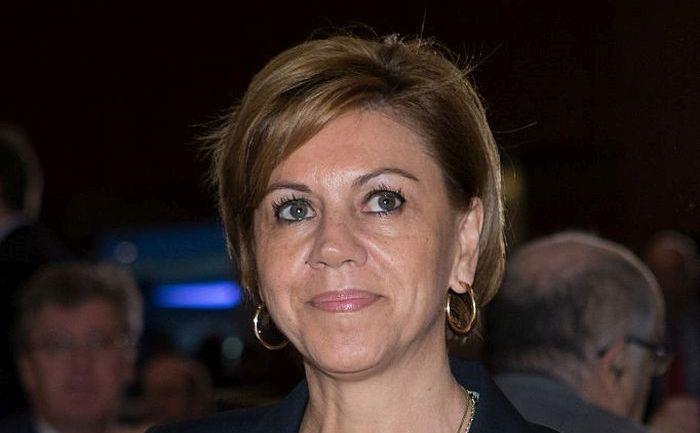 Ministrul spaniol al apărării, Maria Dolores de Cospedal.