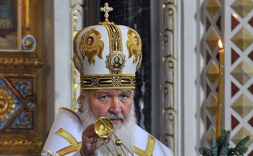 Şeful Bisericii Ortodoxe Ruse, Patriarhul Kirill.
