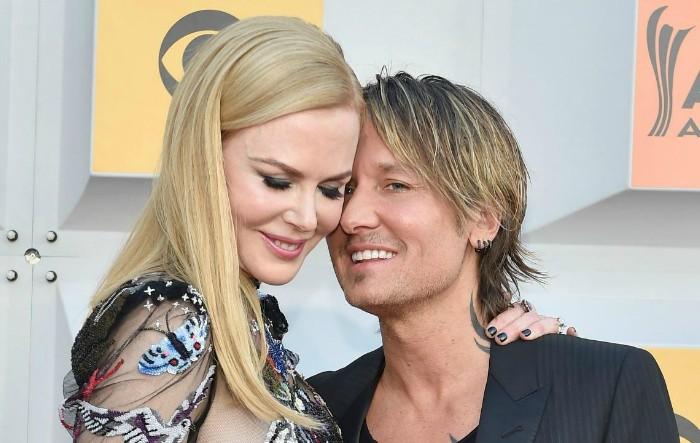 Keith Urban împreună cu Nicole Kidman