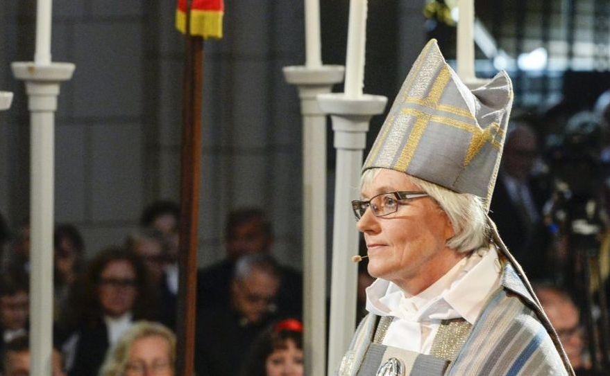 Arhiepiscopul de Uppsala, dr. Antje Jackelen, lidera Bisericii Evanghelice Luterane a Suediei.
