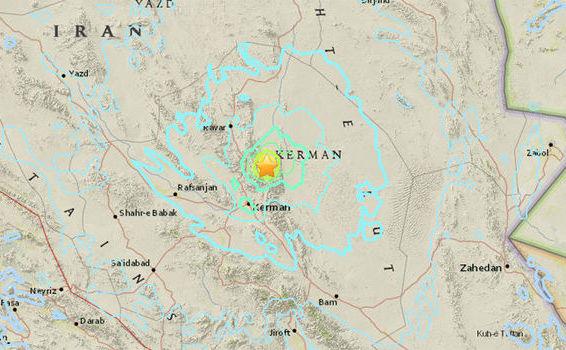 Iranul a fost lovit de un cutremur masiv lângă oraşul Kerman cu o populaţie de 800.000 de oameni