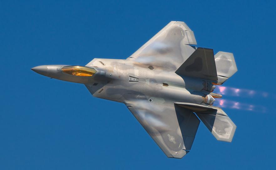 Avion de luptă american F-22 Raptor