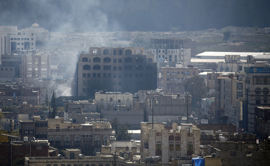 Lupte în capitala yemenită Sanaa, duminică 3 decembrie 2017