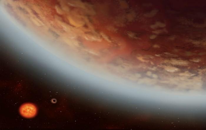 K2-18b şi K2-18c în orbită în jurul stelei K2-18