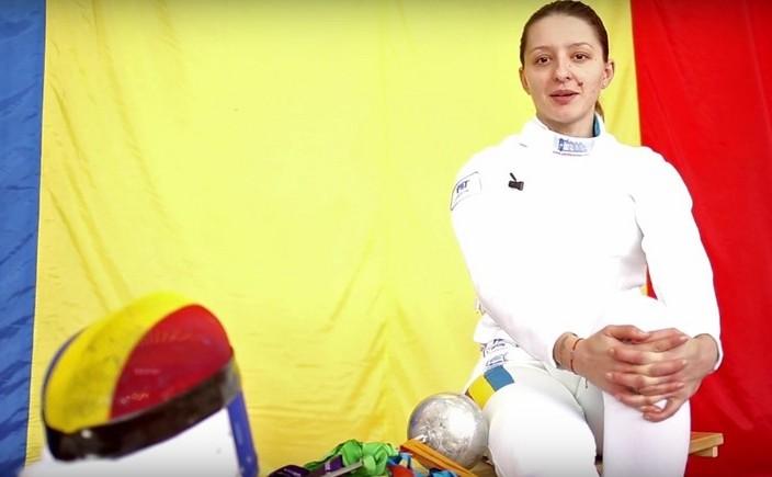 Scrimera română Ana-Maria Popescu.