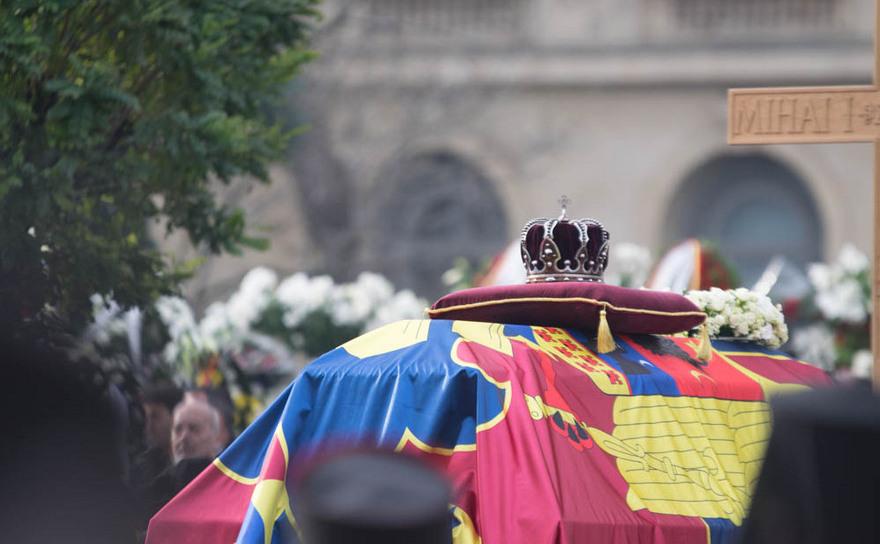Funeraliile Regelui Mihai I al României, 16 decembrie 2017, Bucureşti