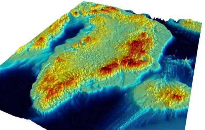 Groenlanda fără calota de gheaţă