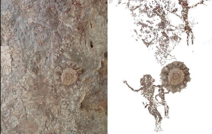 Artă rupestră, Insula Kisar, Indonezia