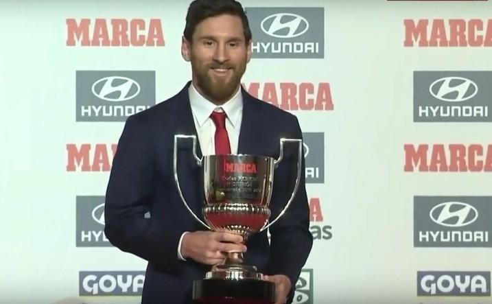 Jucătorul de fotbal argentinian Lionel Messi.