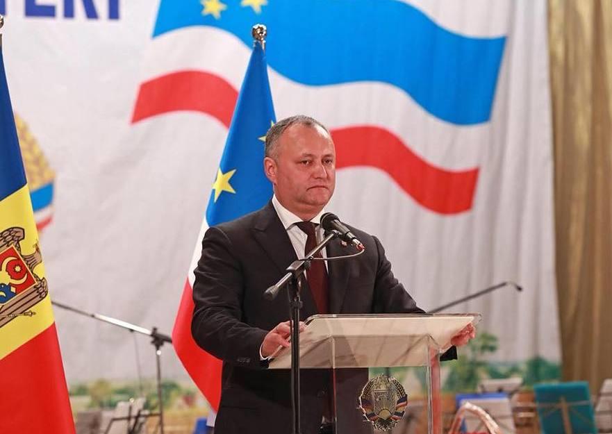 Igor Dodon preşedintele R. Moldova