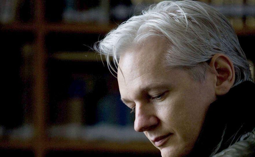 Julian Assange, fondatorul website-ului WikiLeaks.