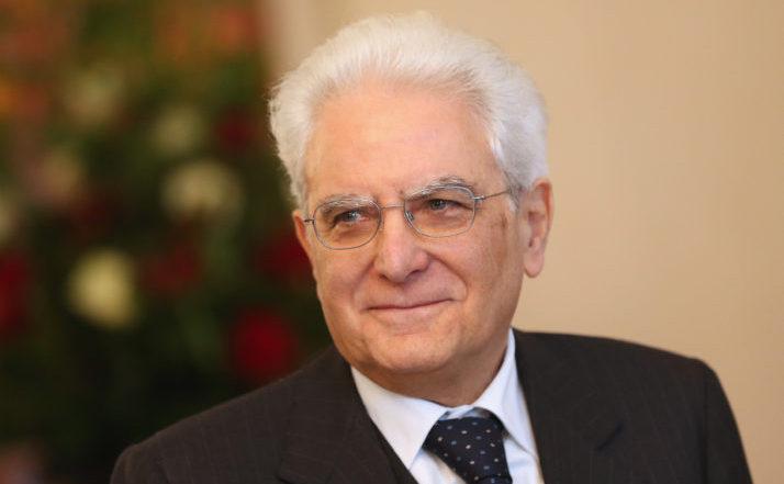 Preşedintele italian Sergio Mattarella
