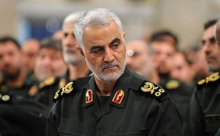 Generalul Qassem Soleimani, comandantul Forţei al-Quds din cadrul Gărzilor Revoluţionare ale Iranului
