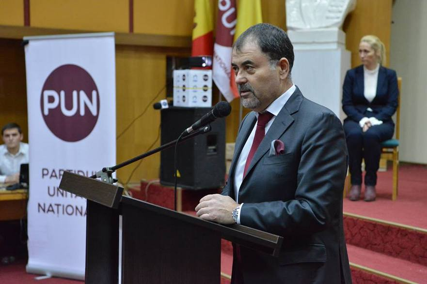 Anatol Şalaru, preşedintele PUN din R. Moldova