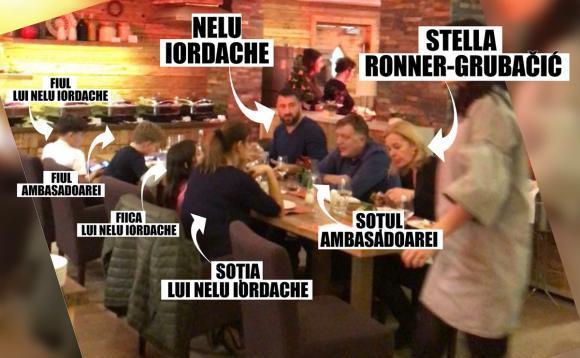 Ambasadoarea Olandei ia masa cu Nelu Iordache