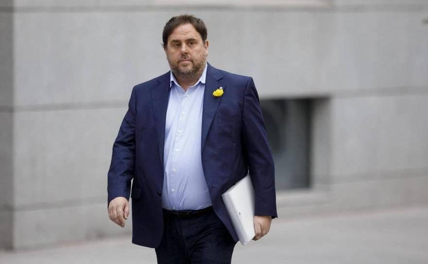 Fostul vicepreşedinte catalan Oriol Junqueras