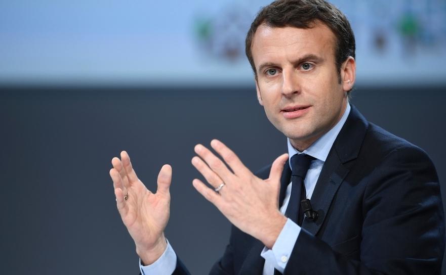 Preşedintele francez Emmanuel Macron