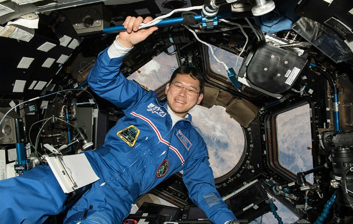Astronautul japonez Norishige   Kanai