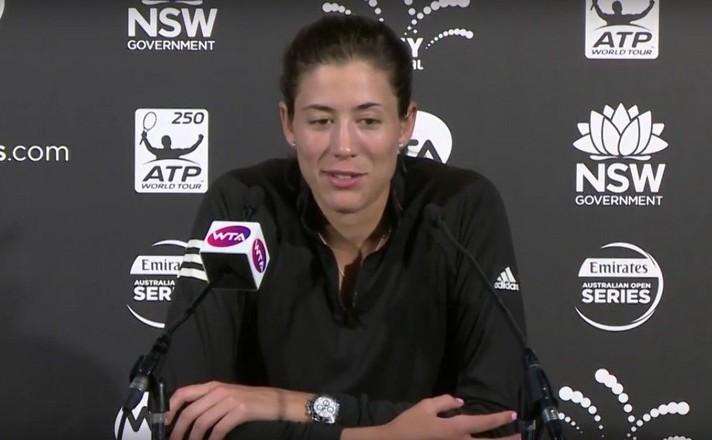 Jucătoarea spaniolă de tenis Garbine Muguruza.