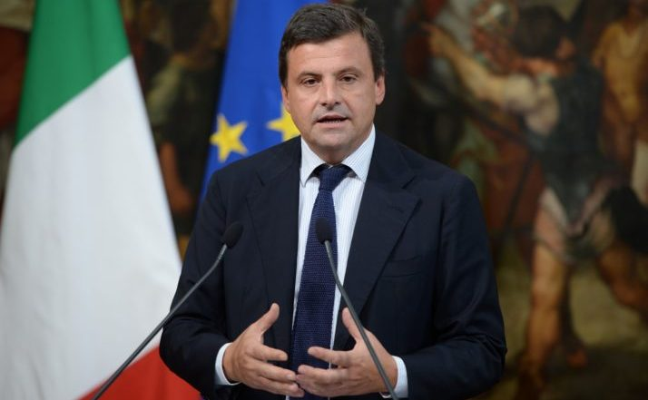 Ministrul italian pentru dezvoltare economică Carlo Calenda