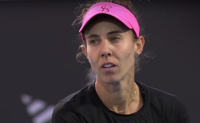 Jucătoarea română de tenis Mihaela Buzărnescu.