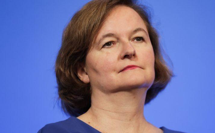 Nathalie Loiseau, ministrul francez pentru afaceri europene.
