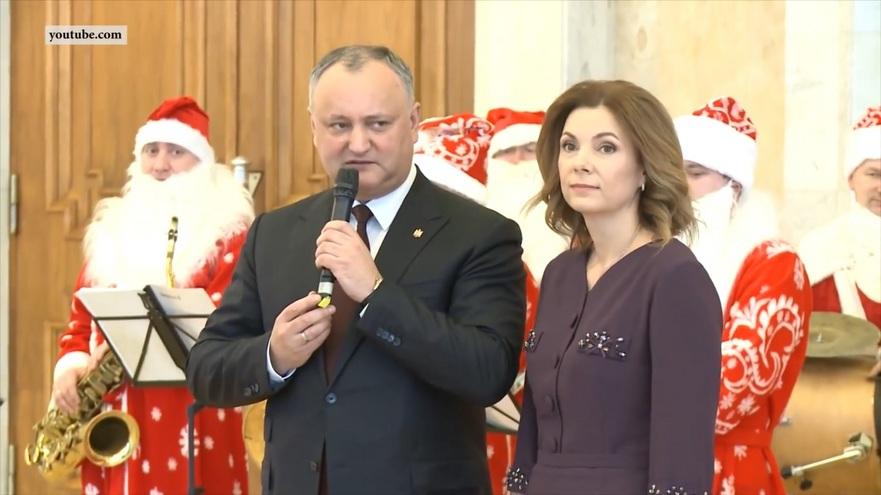 Familia prezidenţială, Igor şi Galina Dodon