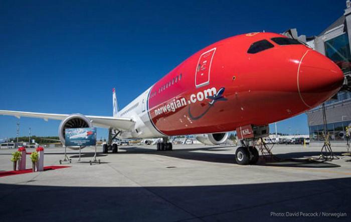 Boeing 787-9 Dreamliner operatat de compania Norwegian