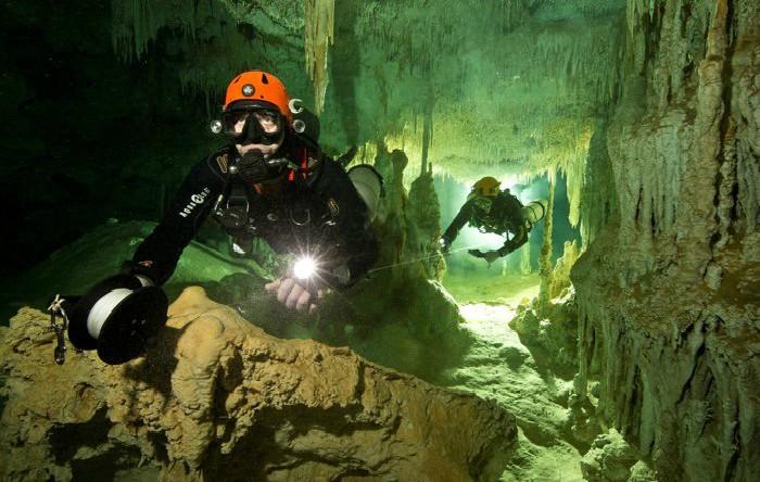 Peşteri subacvatice, Mexic