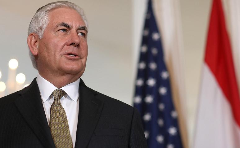 Secretarul de Stat american Rex Tillerson