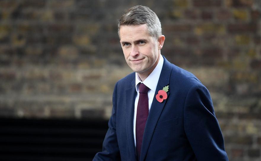 Gavin Williamson, ministrul Apărării din Marea Britanie