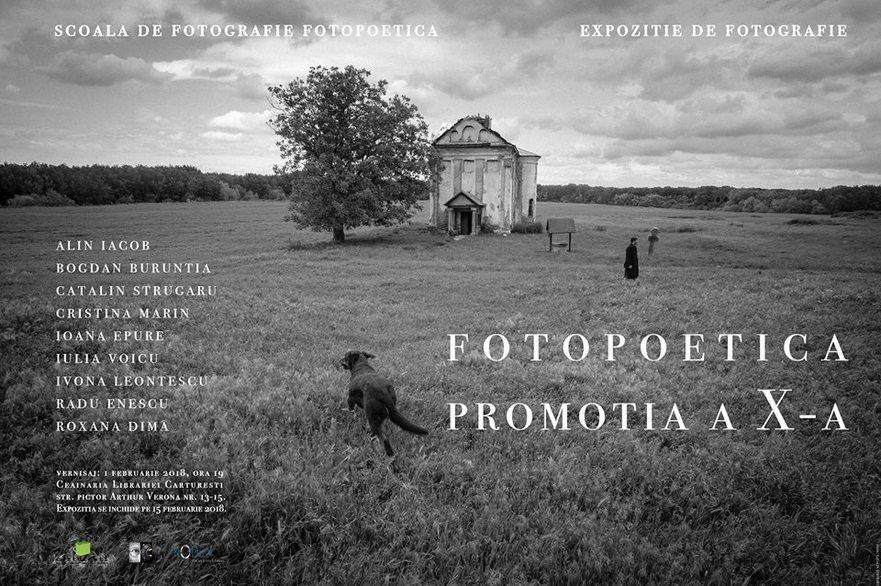 Afiş expoziţie Fotopoetica