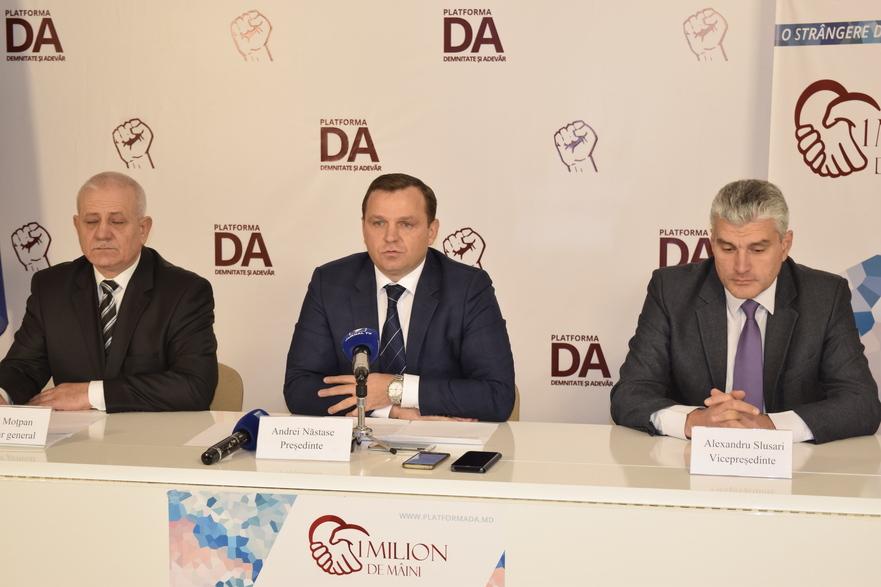 Chiril Moţpan, Andrei Năstase, Alexandru Slusari